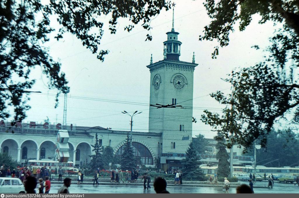 Симферополь вокзал железнодорожный